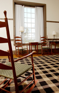 Four Corners rug at Shaker Village